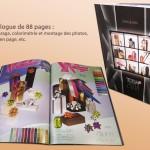 Catalogue réalisé par Damien Ferbus - Objectif Net Création