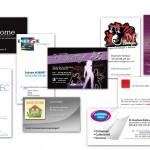 Cartes de visite réalisées par Damien Ferbus - Objectif Net Création